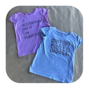 5T Children's Place 2 T-shirts